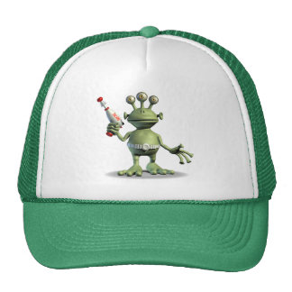 Alien Laser Gun Trucker Hat