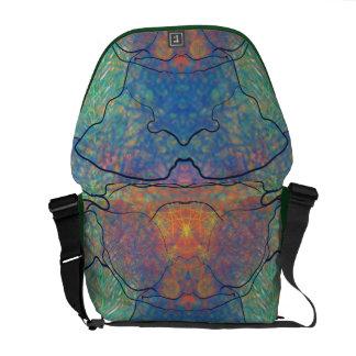 Alien life form messenger bag