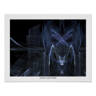 Alien Life Form Poster