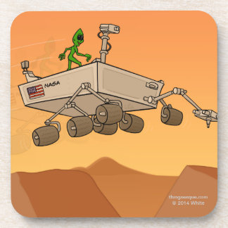 Alien Life on Mars Coaster