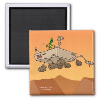 Alien Life on Mars Magnet