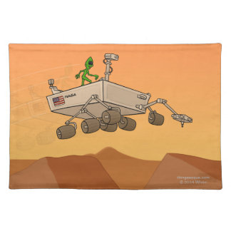 Alien Life on Mars Placemat