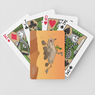 Alien Life on Mars Playing Cards