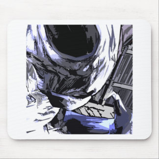 alien Life rob Style Mouse Pad