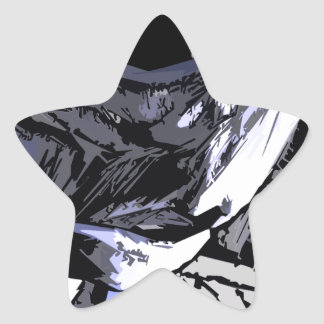 alien Life rob Style Star Sticker