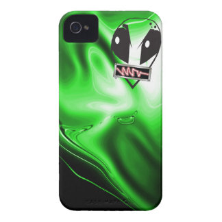 Alien Lime iPhone 4 Cover