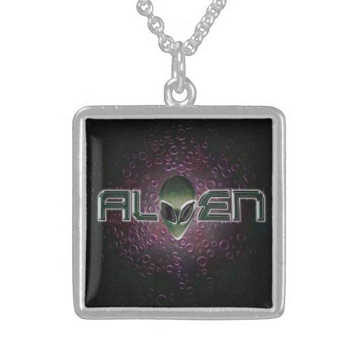 Alien logo  Necklace