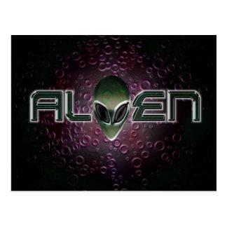Alien logo Postcard