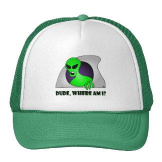 ALIEN LOST-6 TRUCKER HAT