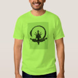 Alien Lotus Position - Find your center and burst T-Shirt