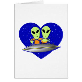 Alien Love Card