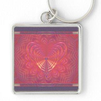Alien Love Keychain keychain