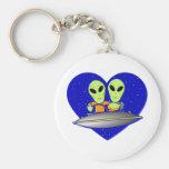 Alien Love Keychains