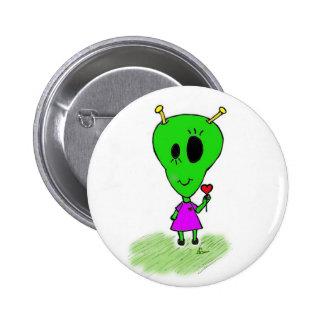 Alien Love Pin