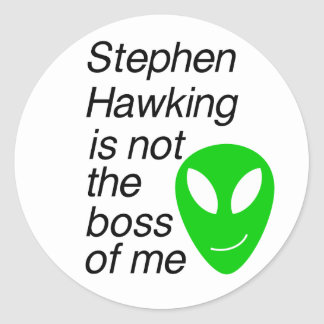 Alien Lover Classic Round Sticker