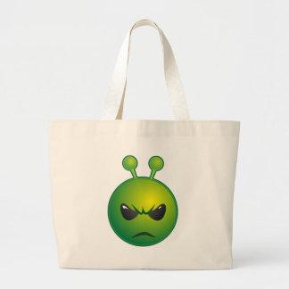 alien mad large tote bag