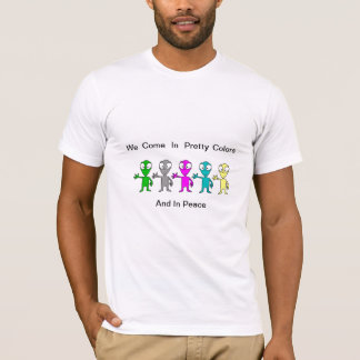ALien Make PEace T-Shirt