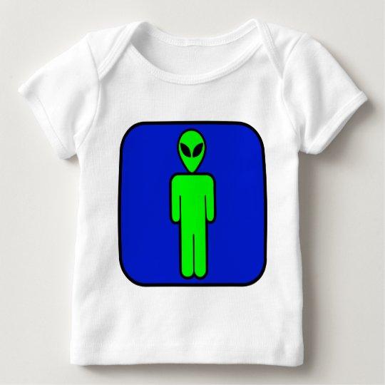 Alien Man Baby T-Shirt