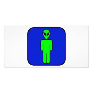 Alien Man Card