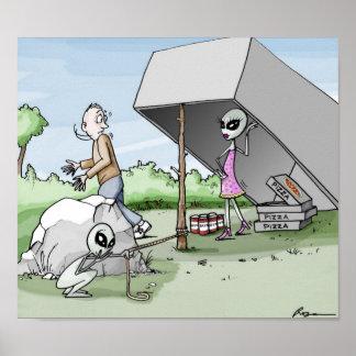 Alien Man Trap Poster