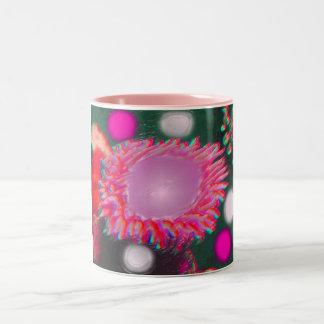 Alien Marine Life Two-Tone Coffee Mug