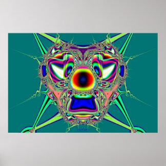Alien Mask Poster