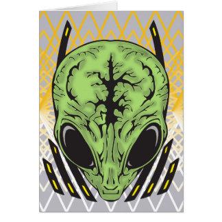 Alien Mental Powers Card