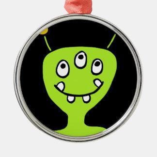 Alien Metal Ornament