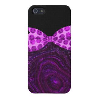 Alien Metallic Pink Smilies iPhone SE/5/5s Cover