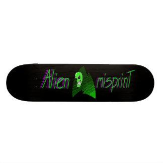 Alien Misprint Skateboard Deck