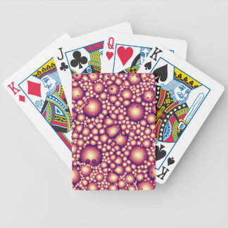 Alien Molecular Structure Bicycle Playing Cards