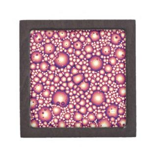 Alien Molecular Structure Keepsake Box