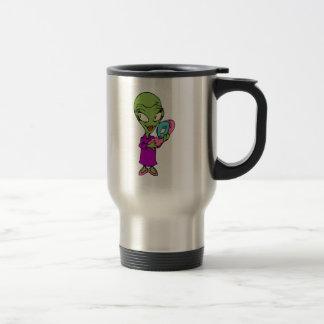 Alien Mommy Travel Mug