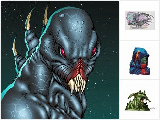 Alien Monsters from the Stars