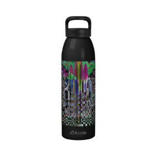 Alien Monument Reusable Water Bottles