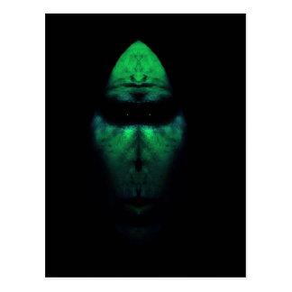 Alien Morph Postcard
