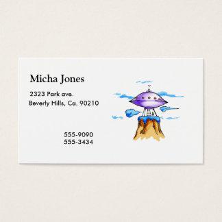 Alien Mountain Business Card