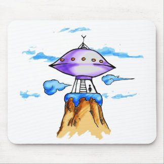 Alien Mountain Mousepad