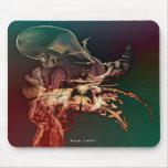 Alien mousepad by Anjo Lafin