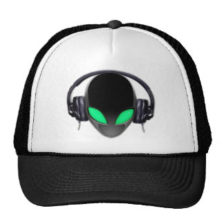 Alien Music Lover DJ - Smooth Cetacean Trucker Hat
