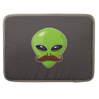 Alien Mustache Sleeve For MacBook Pro