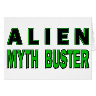Alien Myth Buster Card
