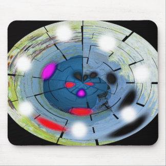 Alien navigation mouse pad