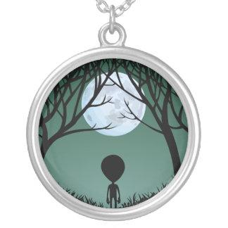 Alien Necklace Grey Alien Gifts ET Alien Keepsake