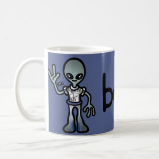 alien nectar. coffee mug