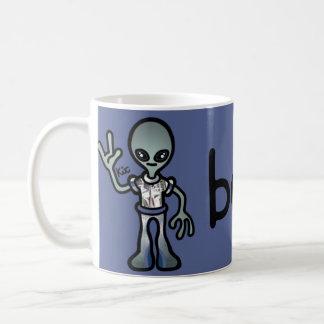 alien nectar. coffee mug