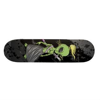 Alien Ninja Warrior  Skateboard