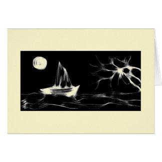 Alien Ocean Scene Card