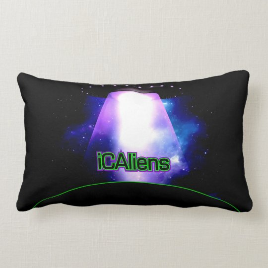 Alien Official Logo UFO American MoJo Pillow