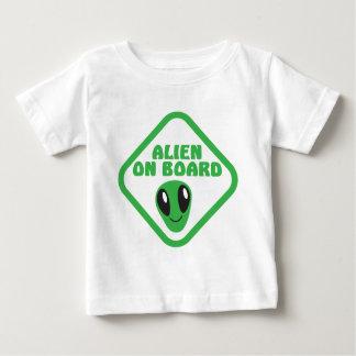 ALIEN ON BOARD! BABY T-Shirt